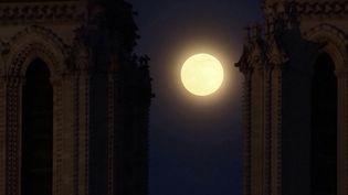 Une étude nord-américaine, publiée mercredi 27 janvier, démontre que les jours qui précèdent une pleine lune, nous nous endormons plus tard que d'ordinaire.  (CAPTURE ECRAN FRANCE 3)