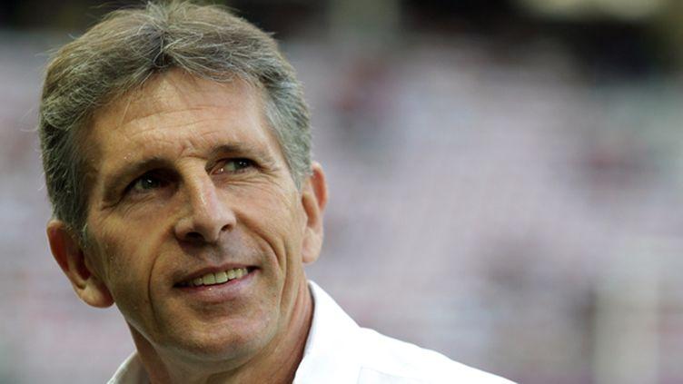 L'entraîneur français Claude Puel (JEAN CHRISTOPHE MAGNENET / AFP)
