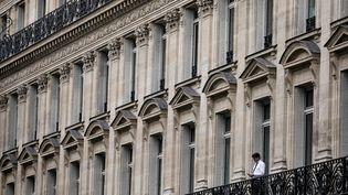 Immeuble avenue de l'Opéra, à Paris. (Illustration) (VINCENT ISORE / MAXPPP)