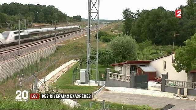 LGV Paris-Bordeaux : les riverains se plaignent de nuisances sonores