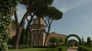 Les jardins du Vatican. (FRANCE 2)
