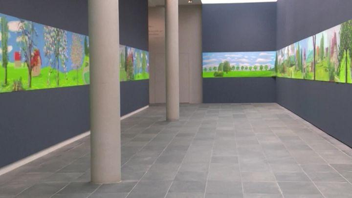 """A Year in Normandie"", exposition David Hockney à l'Orangerie (France 3 Normandie)"