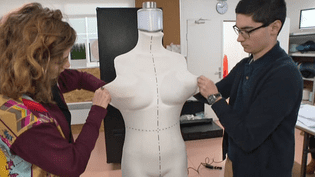 Lemannequin robot 100 % made in France de la société Euveka s'apprête à s'envoler pour Las Vegas pour le salon CES  (France 3 / Culturebox )