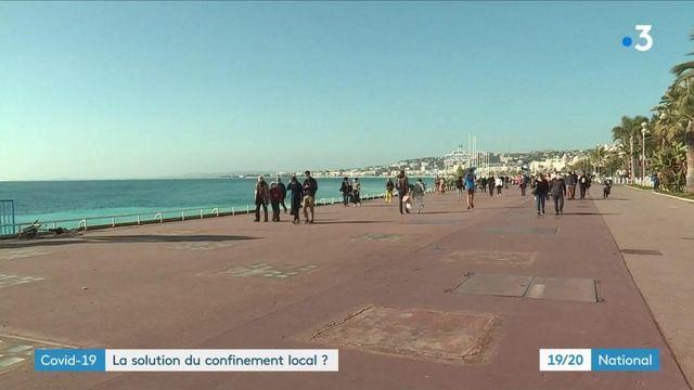 Covid-19 : le scénario du confinement localisé à Nice