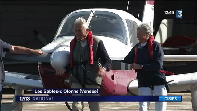 Vendée : un couple de retraités explore le monde en avion