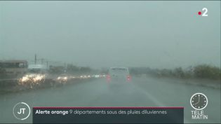 Pluies dans l'Hérault. (France 2)