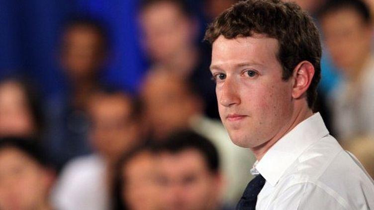 Mark Zuckerberg, patron de Facebook. (AFP - Justin Sullivan)