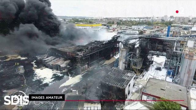 Incendie de Rouen : une fumée noire et des habitants inquiets