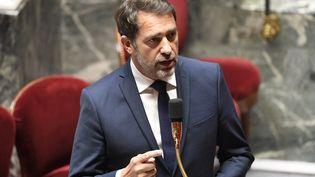 Le ministre de l'Intérieur, Christophe Castaner, lors d'une session de questions au gouvernement, à l'Assemblée nationale, le 9 juin 2020. (BERTRAND GUAY / AFP)