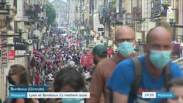 Coronavirus : les grandes villes généralisent le masque