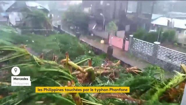 Le typhon Phanfone frappe les Philippines de plein fouet