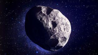 Image d'illustration d'un astéroïde. (ANDRZEJ WOJCICKI / SCIENCE PHOTO L / AWO / AFP)