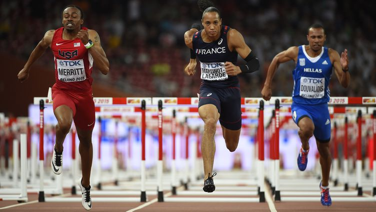 Pascal Martinot-Lagarde qualifié pour la finale du 110m haies (OLIVIER MORIN / AFP)