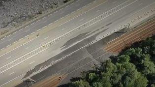 Haute-Savoie : une coulée de boue coupe la ligne Paris-Milan (FRANCE 2)