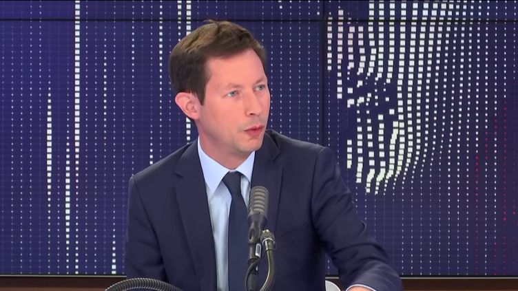 François-Xavier Bellamy, eurodéputé Les Républicains, invité de franceinfo le 15 juillet 2020. (FRANCEINFO / RADIO FRANCE)