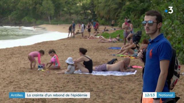 Antilles : face à l'affluence touristique, la crainte d'une reprise de l'épidémie