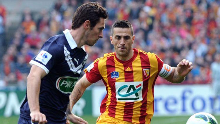 Ludovic Obraniak (Bordeaux) face à Yohan Demont