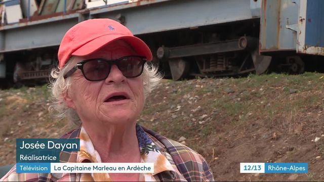 Tournage Capitaine Marleau en Ardèche