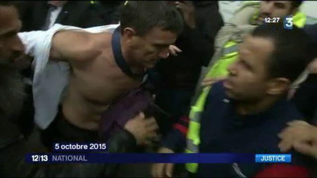 Procès de la chemise arrachée : trois ex-salariés d'Air France condamnés à 3 à 4 mois avec sursis, deux relaxés