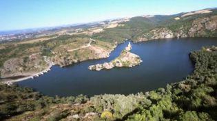 Découverte : les gorges de la Loire, un site tranquille et magnifique (CAPTURE ECRAN FRANCE 2)