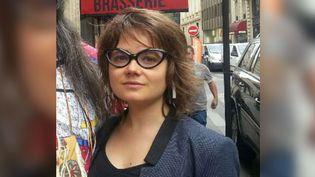 Lucie Pinson en 2017 à Paris (photo d'illustration). (ANNE-LAURE BARRAL / RADIO FRANCE)