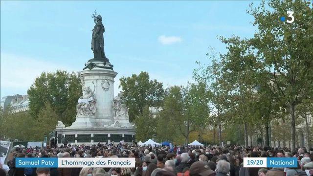 Samuel Paty : l'hommage à Paris