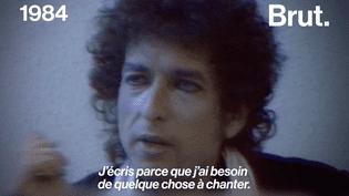 VIDEO. Chanteur engagé, poète, prix Nobel de littérature…Retour sur la vie de Bob Dylan (BRUT)