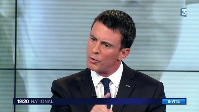 """Régionales 2015 : """"Le Front national ne peut pas être la solution"""", pour Manuel Valls"""