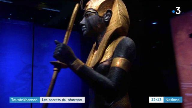 Toutânkhamon : près de 5 400 objets dans le tombeau du pharaon