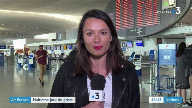 Air France : la grève se poursuit