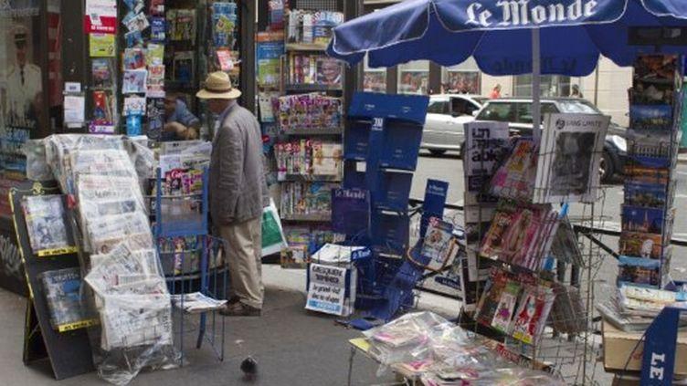 Kiosque à journaux (AFP)