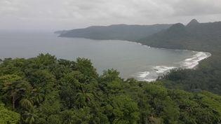 L'archipel deSao Tomé-et-Principe, dans l'océan Atlantique, offre une jungle luxuriante et un espace préservé. (CAPTURE D'ÉCRAN FRANCE 2)