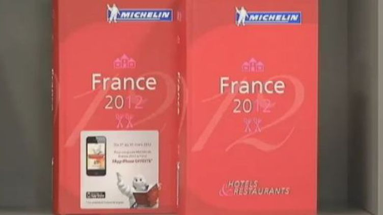 Le Guide Michelin 2012. (FRANCE 2)
