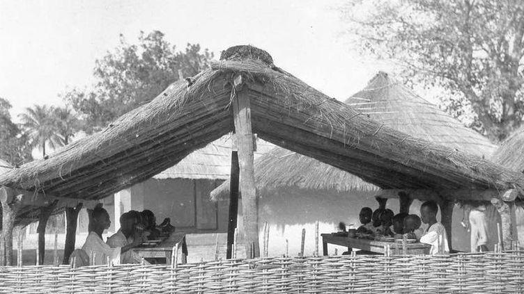 Scènes de l'école rurale en Casamance.  Scènes de l'école rurale en Casamance .Auteurs,Author provided (Auteurs, Author provided)