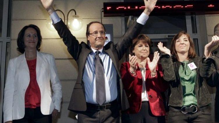 François Hollande, dimanche 16 octobre 2011, (THOMAS SAMSON / AFP)