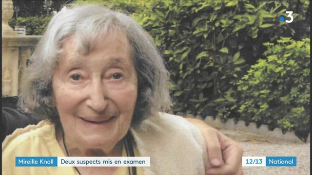 Mireille Knoll : deux suspects mis en examen