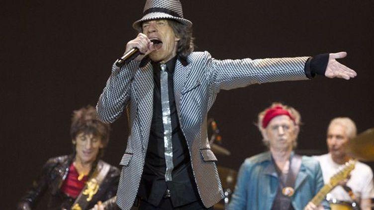 Méga concert des Rolling Stones à Londres le 25 novembre 2011  (Joel Ryan/AP/SIPA)