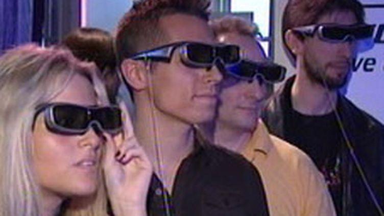 Les lunettes indispensables au visionnage d'un écran 3D (France 3)