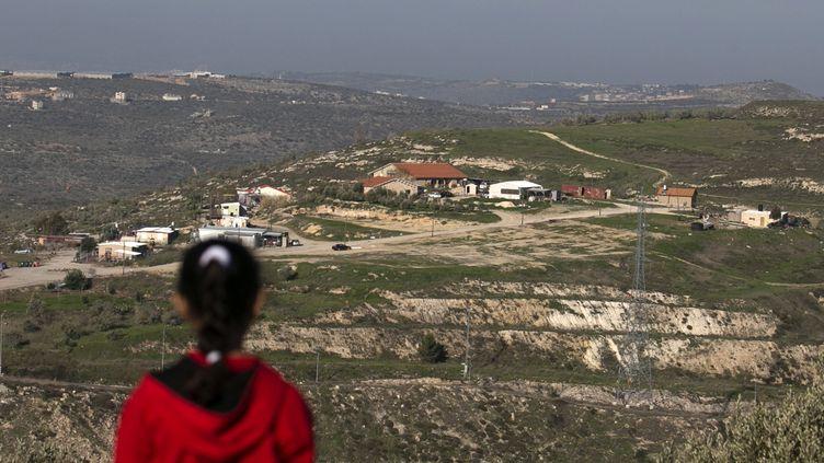 Une vue d'une colonie israélienne à Havat Gilad, en Cisjordanie, le 2 février 2018. (JAAFAR ASHTIYEH / AFP)