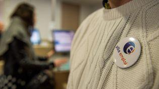 Dans une agence Pôle emploi à Lille (Nord), le 16 décembre 2015. (PHILIPPE HUGUEN / AFP)