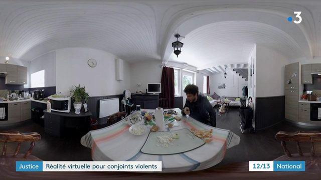 Réalité virtuelle : un dispositif crée pour les conjoints violents