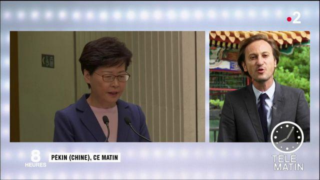 Hong Kong : le gouvernement abandonne son projet de loi d'extradition vers la Chine