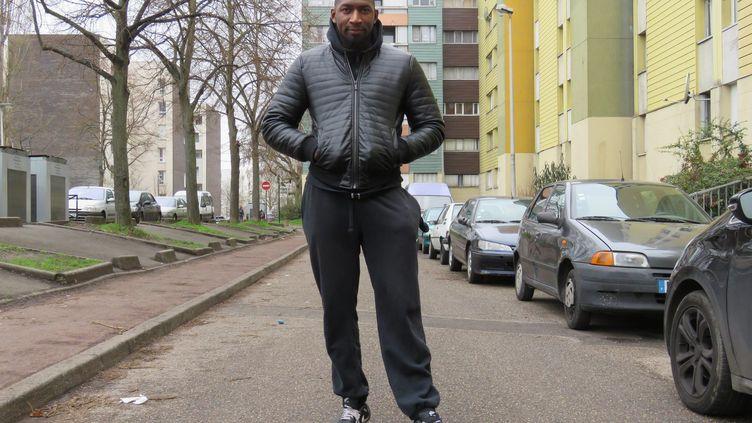 Hadama Traoré à Aulnay-sous-Bois en 2017 (MAXPPP)