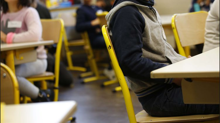 Une classe dans une écoleprimaireà Boulogne-Billancourt. (MAXPPP)