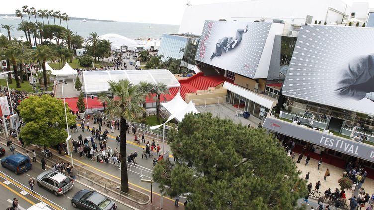 Cannes et son Palais des festivals (15 octobre 2020) (MANDOGA MEDIA / NEWSCOM / MAXPPP)