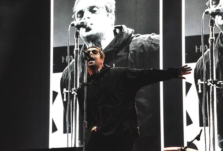 Liam Gallagher a dédié une chanson à son frère Noel, et proposé une nouvelle fois d'enterrer la hache de guerre.  (Olivier Flandin FTV)