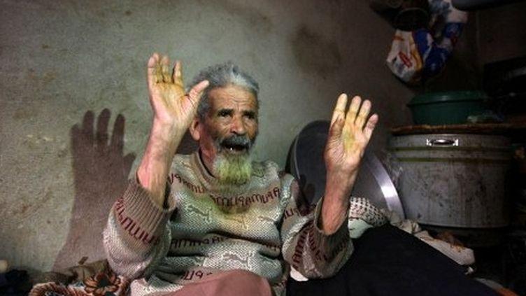 Pour près de la moitié des 22 millions de Yéménites, manger est devenu un luxe (AFP PHOTO / MOHAMMED HUWAIS)