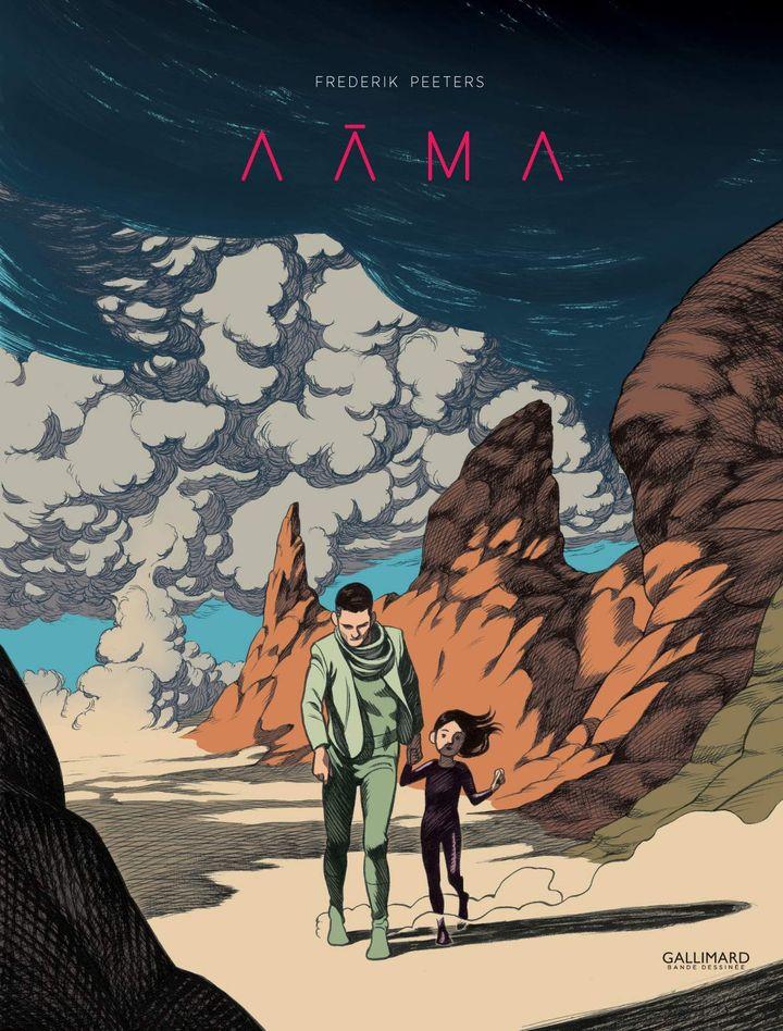 """Couverture de """"Aâma, Intégrale"""", de Frederik Peeters (Gallimard BD)"""