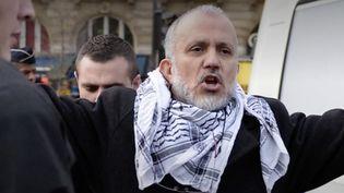 Abdelhakim Sefrioui, un activiste islamiste franco-marocain, est au coeur de l'enquête sur l'assassinat de Samuel Paty. (France 3)