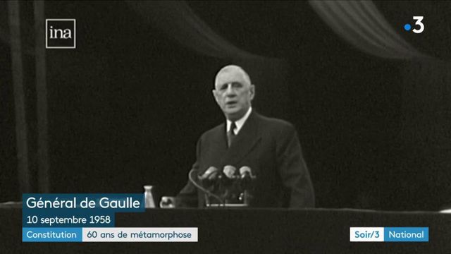 Constitution de la Ve République : 60 ans de métamorphose d'un texte impulsé par le général de Gaulle